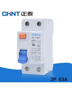Interruptor diferencial Chint NL1-63H 2 polos