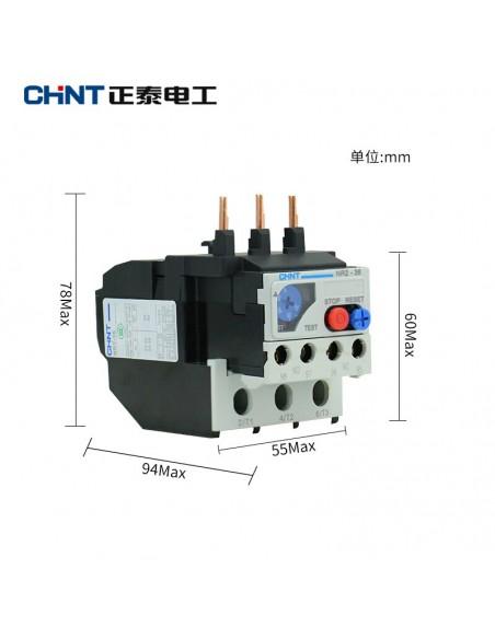 Relé Térmico CHINT NR2 - medidas