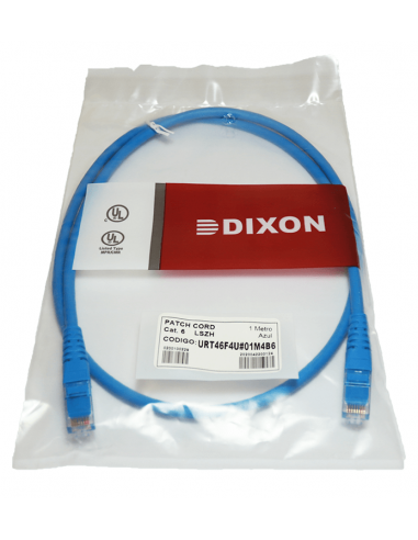 Patch Cord Cat 6 Dixon 1 metro