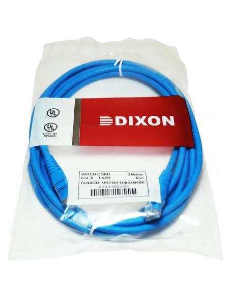 Cable de Red Internet Patch Cord Cat 6 Dixon 3 metros PERU