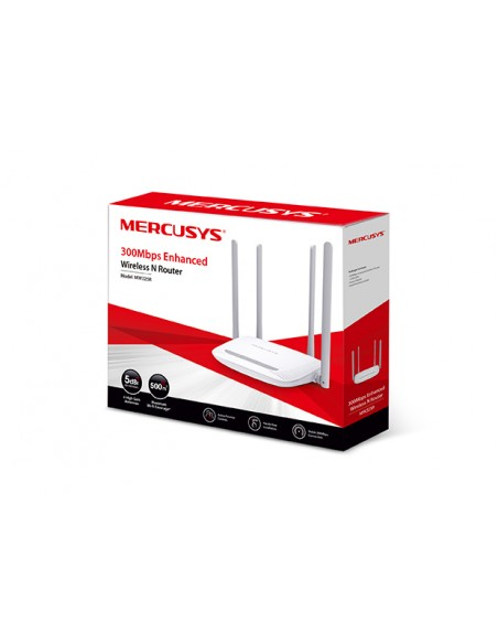 MW325R Mercusys Router Inalámbrico N 300Mbps