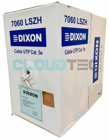 Dixon 7060 - Cable UTP Cat 5E - LSZH