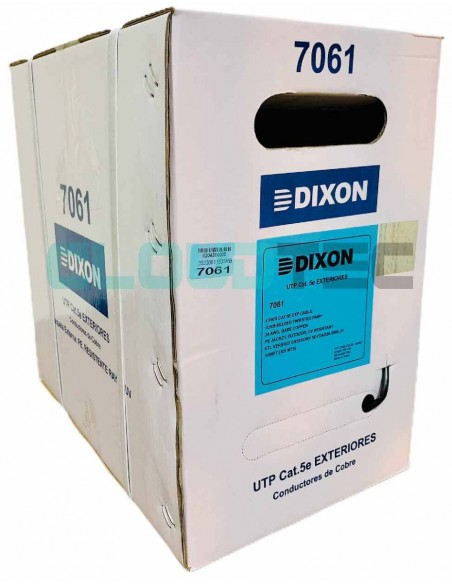 Dixon 7061 - Cable UTP Cat5e LSZH Dixon Perú