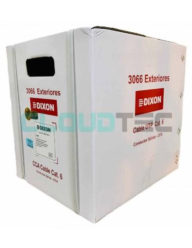 Dixon 3066 - Cable UTP Cat 6 para Exteriores DIXON PERU